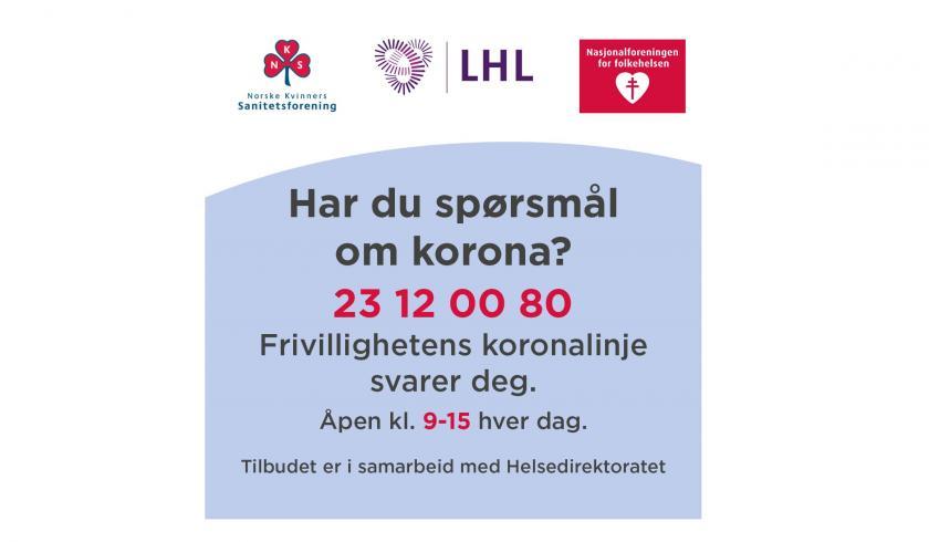 Frivillige Avlaster Helsedirektoratet Norske Kvinners Sanitetsforening